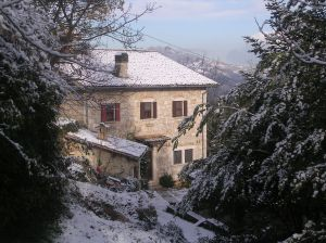 Il Roccolo in the Snow